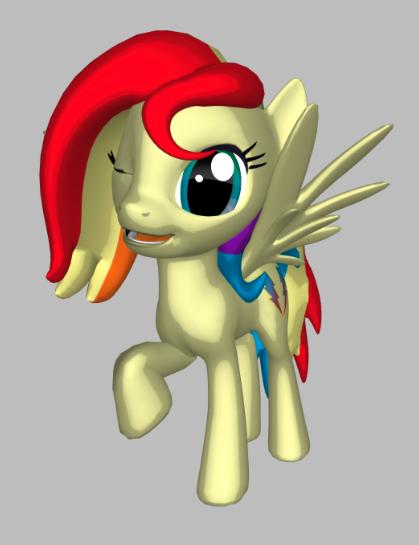 Rainbow Dust - My Ponysona