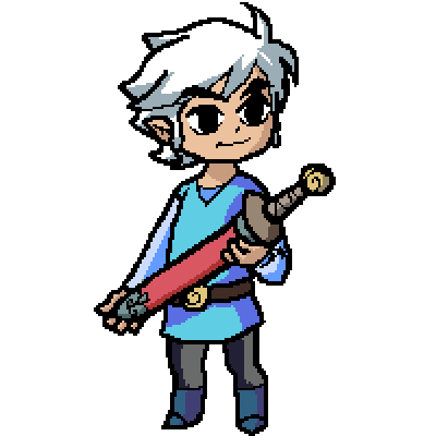 Albino Link (color change)