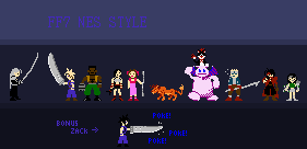 FF7 NES-style