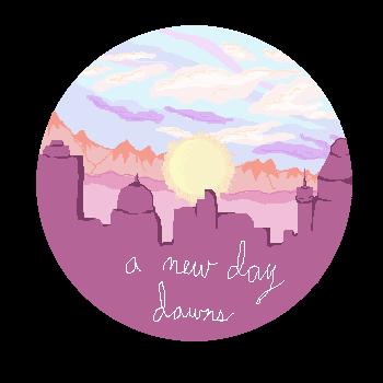 A new day dawns