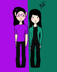 Me and Alexia with glasses!