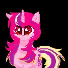 pony rosa