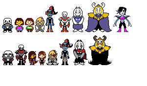 undertale and underfell
