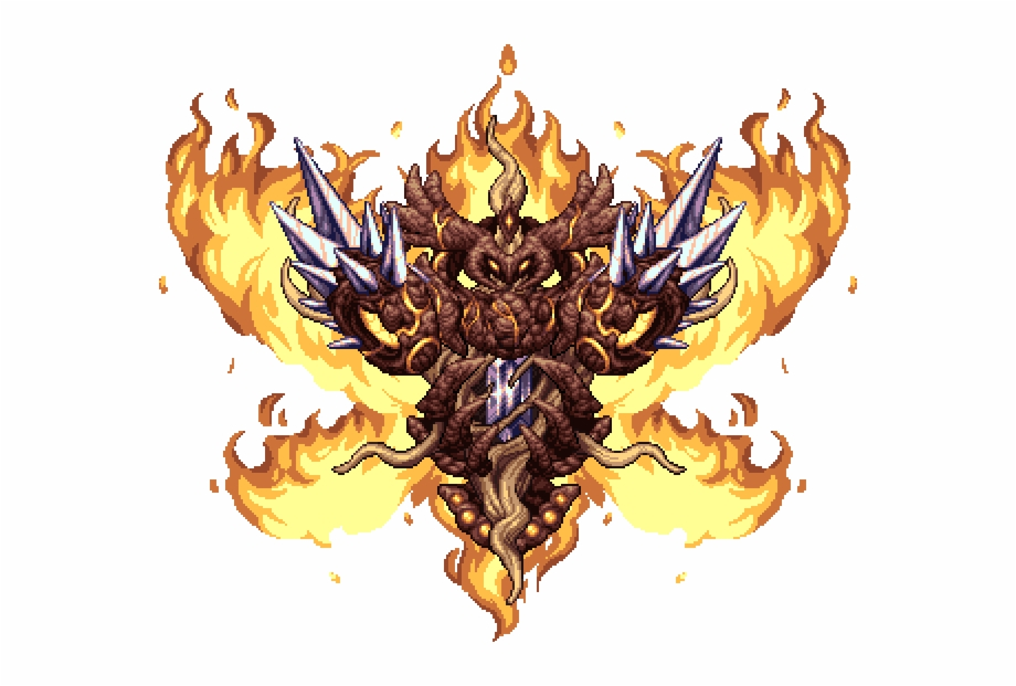 Fire dragon king