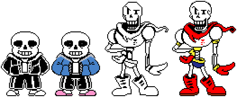 uh?! sans and papyrus